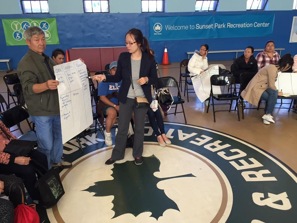 Participatory Budgeting at Sunset Park Recreation Center